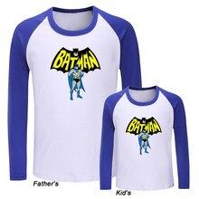 5c5ae2e70ec5 DC Superhero Bruce Wayne Batman Design Family Day T-shirts Mens Printing T  Shirt Womens Graphic Tee Kids Children Tshirt Tops