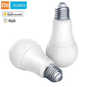 Aqara Smart bulb 9W E27 2700K-6500K 806lum Smart tunable White Color LED lamp Light Work with Home Kit and for xiaomi Home App