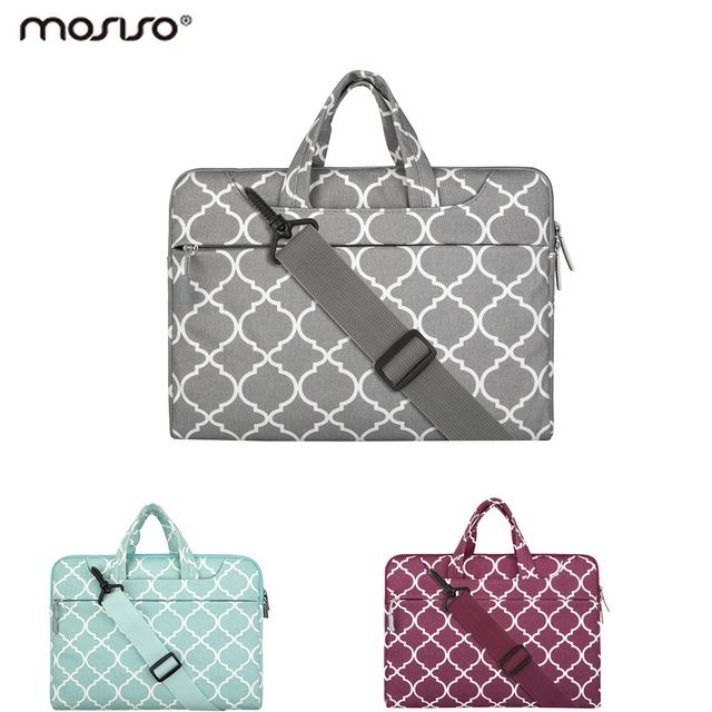 Mosiso New Laptop Shoulder Bag 11.6 13.3 15.6 inch Notebook Sleeve Carry Case for MacBook Pro Air 11 12 13 14 15 ASUS HP