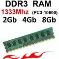 4 ГБ ddr3 ОПЕРАТИВНОЙ памяти Ddr3 2 ГБ 1333 МГц-1333 DDR3 8 ГБ ОПЕРАТИВНОЙ ПАМЯТИ-для AMD и Intel DDR3 memoria RAM