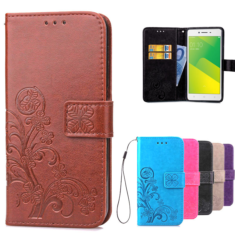 best value 18e48 01cfc US $3.59 19% OFF|Luxury 3D Printing Flower Pattern Leather Flip Case Oppo  A37 Wallet Phone Back Cover Case For OPPO A37 Case With Card Slots-in  Wallet ...