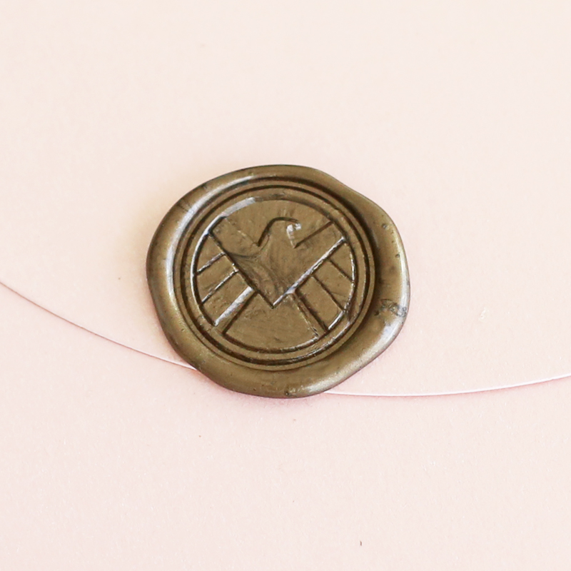 все цены на Agents of Shield stamp. SHIELD logo stamp  WS100 онлайн