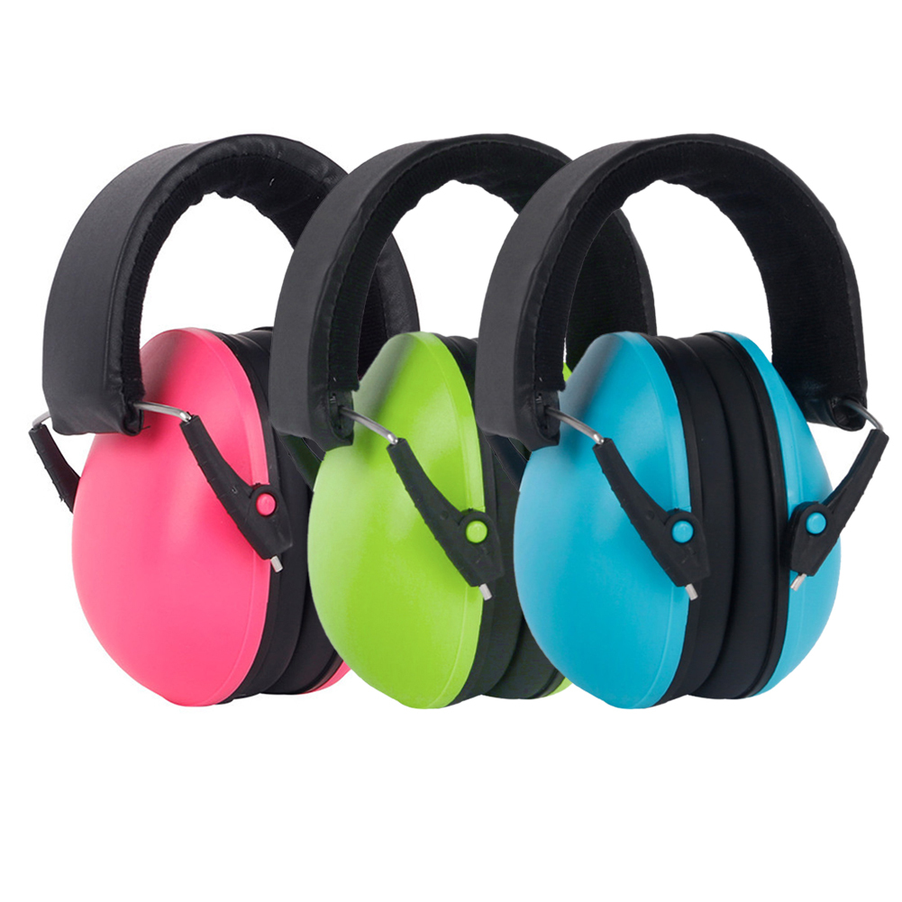 Kids Ear Muffs Hearing Soft Healthey Care Protection Noise Reduction Children Ear Defenders Safety Children Earphone