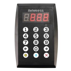 Image 2 - Retekess TD101 Number Calling System Wireless Restaurant Pager Queue Management System Loud Speaker 3 Digit Display for Business