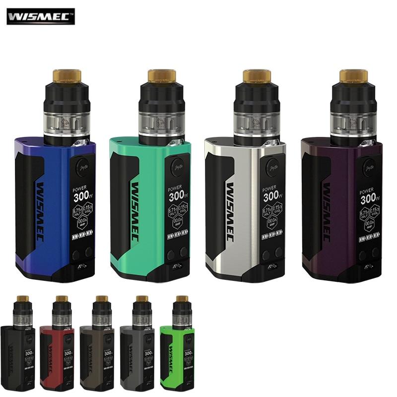 Wismec Electronic Cigarettes Reuleaux RX GEN3 Kit 300w Box Mod Vape and GNOME Atomizer 2ML With