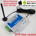 Бесплатная доставка с почтой RTU5015 GSM ворота управление устройством открывания с SMS удаленный Управление сигнализация 1 Выход/2 входа app подде...