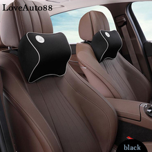 1pcs Car Neck Pillow Super Soft space Memory Foam Auto Seat Cover Head Neck Rest Cushion Headrest Pillow car styling odontogenic head and neck space infections