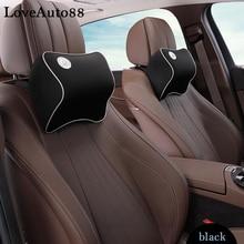 1pcs Car Neck Pillow Super Soft space Memory Foam Auto Seat Cover Head Neck Rest Cushion Headrest Pillow car styling все цены