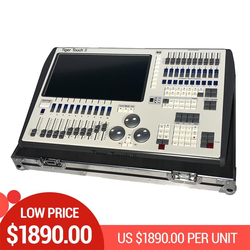 Contrôleur professionnel de l'étape de musique Tiger Touch II le plus récent 11.10 processeur de noyau i5 de contrôleur de ystem DMX pour les équipements de DJ de Disco