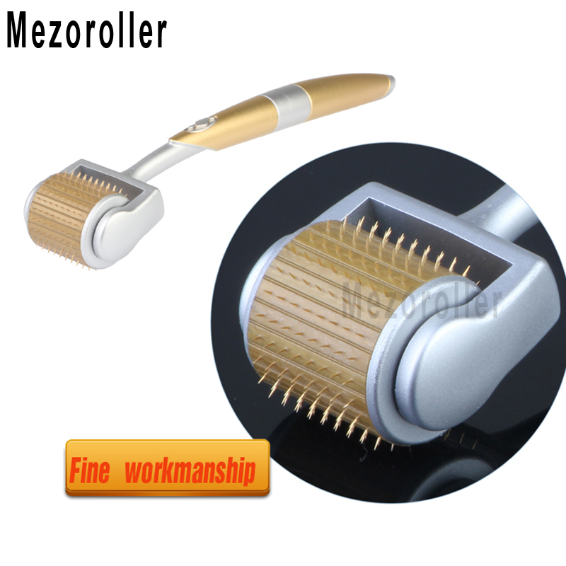 Micro-needling Derma Roller ZGTS 192Needles Roller For Skin Care Body Treatment Meso Roller Mikronadel Micro Agulha Mezoroller