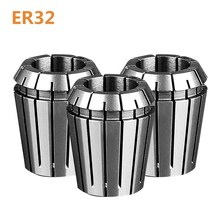 купить 1PCS ER32  high quality high precision spring engraving machine set CNC milling machine lathe tool ER32 spring collet дешево