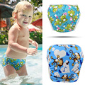 Reusable Swim Diaper 2017 Fashion Baby Swimwear Girls Toddler Diaper Cartoon Diapers for Swimming Brand Designer Baby Swimsuit