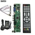 V56 Universal TV LCD Tablero de Conductor Del Controlador PC/VGA/HDMI/USB + adaptador de LA UE + teclado