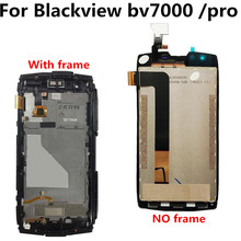 bv7000 LCD For Blackview bv7000 pro LCD Display+ Touch Screen with frame Digitizer Assembly Repair for Blackview bv7000 pro blackview bv7000 pro pro 5 0 inch 4gb 64gb smartphone grey