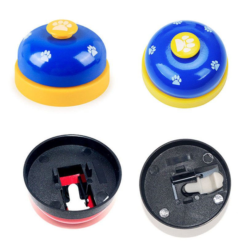 Pet Dog Training Dinner Bell Dog Cat Interactive Toy Training Accessories Puppy Dog Feeder Ring Trainer Funny Products For Dog-4