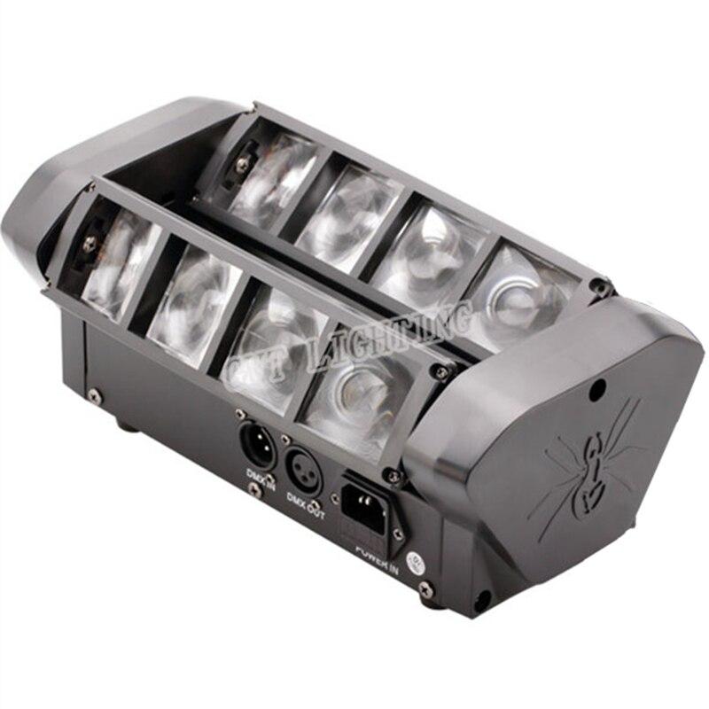 dmx fase movente cabeca luz 8x10 w 04