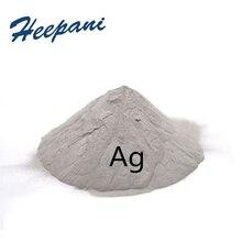 Серебряная пудра Ag с 99.99% чистоты проводящий чистый серебряный порошок