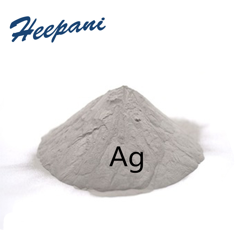 Free Shipping High Purity 50nm Silver Ag Powder With Ball Shape Ultrafine Pure Conductive Silver Powder For Research