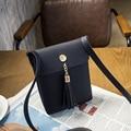 Frete grátis 2016 nova feminino mini saco franjas sacos de ombro mensageiro pacote de telefone móvel