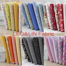 2017 DIY Soft Little Flower 100% Cotton Fabric For Sewing Textile Tissue Material Patchwork 50*50 (7pieces/lot)