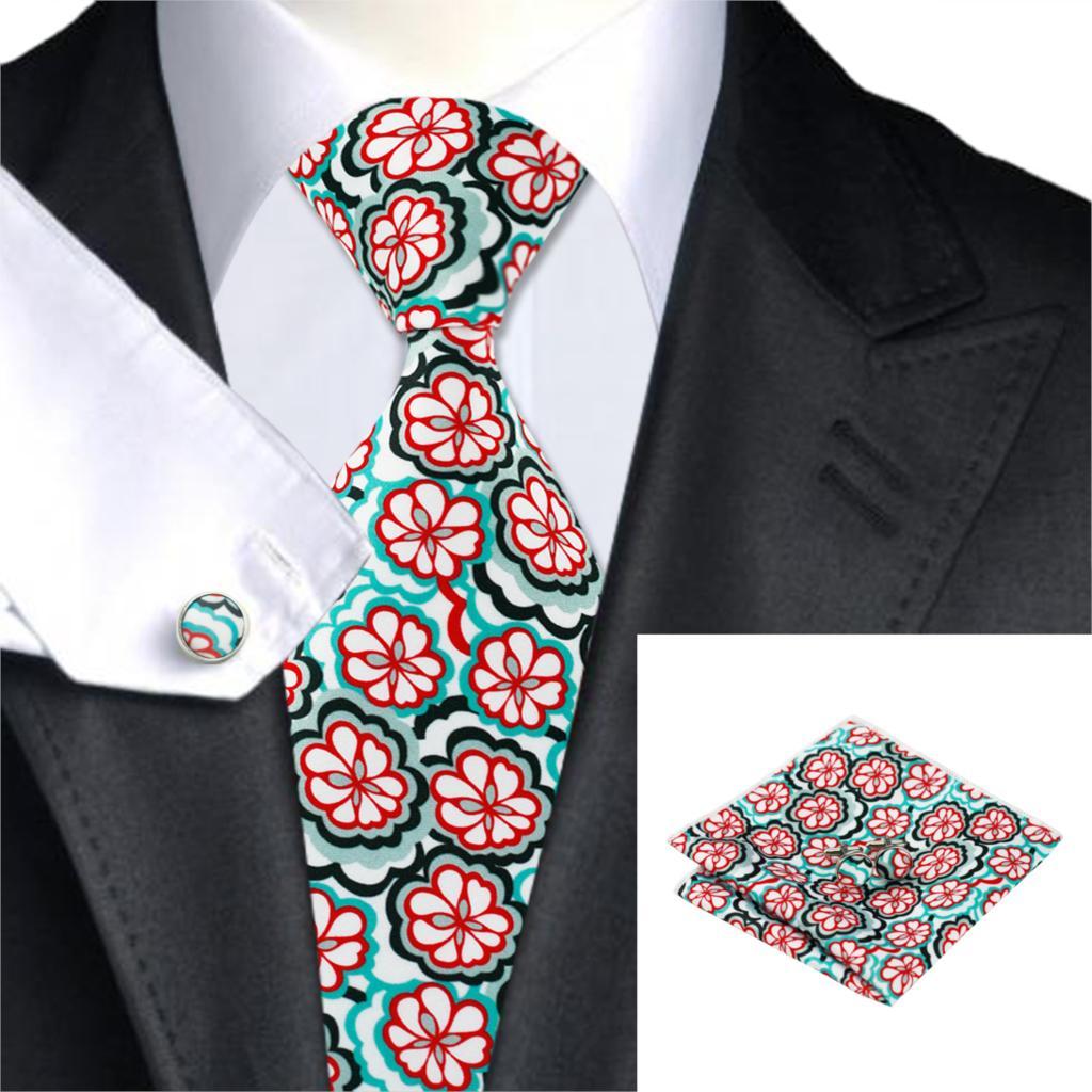 Conjunto Laço Dos Homens de moda de Impressão Floral Pescoço Laços Bolso  Quadrado abotoaduras de Casamento Conjunto Gravata Para Os Homens Colete  Terno e ... 66ed6f311d