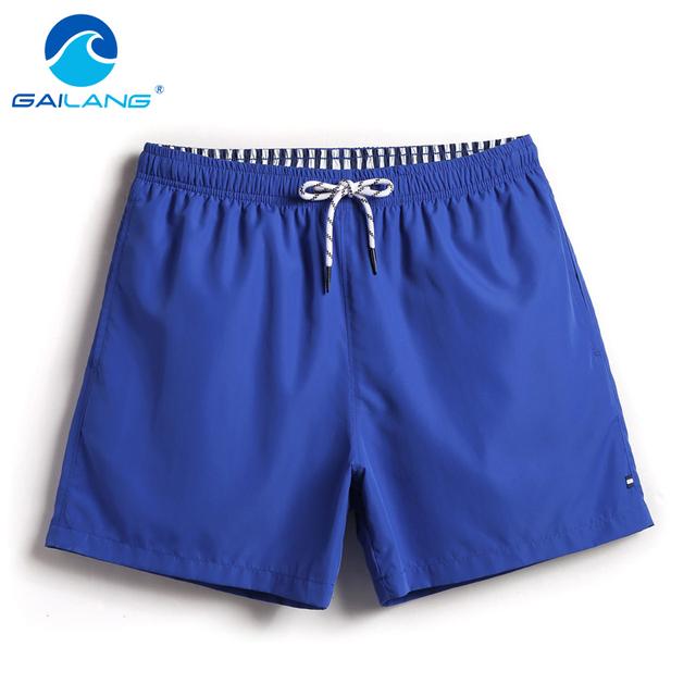 Gailang Brand Men Swimwear Swimsuits Boxer Trunks Bermuda Man Board Beach Shorts Quick Drying Bathing Suits Bottoms