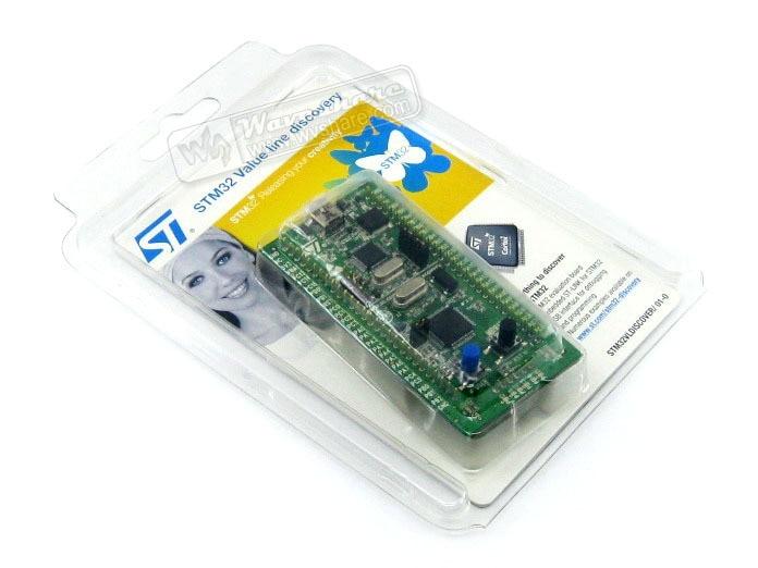 STM32 Board STM32VLDISCOVERY STM32F100RB STM32F100 STM32 Evaluation Development Board Discovery Kit Embedded ST-Link 2012 apple ssd to sata adapter card green