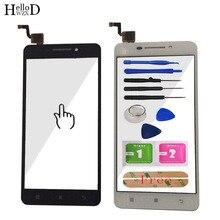 5 גבוהה נייד טלפון לוח מגע חיישן עבור Lenovo A5000 מגע מסך Digitizer Panle קדמית זכוכית עדשת מסך מגע דבק