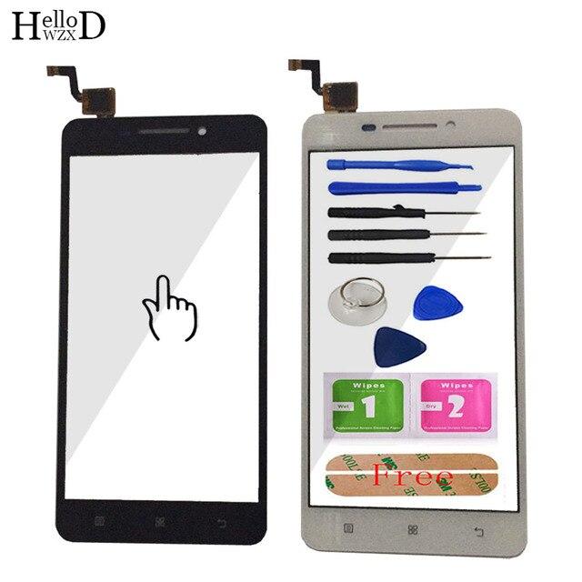 5 ''גבוהה נייד טלפון לוח מגע חיישן עבור Lenovo A5000 מגע מסך Digitizer Panle קדמית זכוכית עדשת מסך מגע דבק