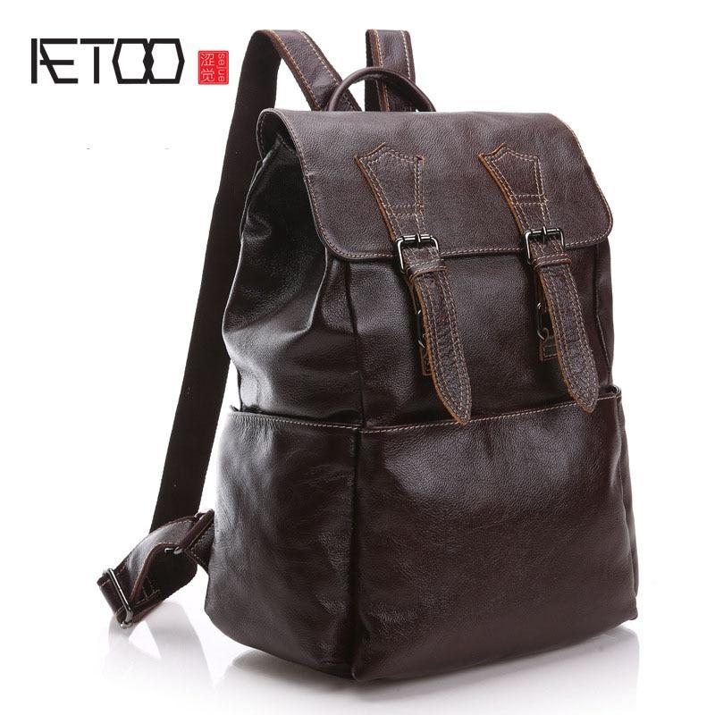 AETOO Casual men's shoulder bag business men's shoulder bag burst models men's shoulder bag маленькая сумочка shoulder bag 701