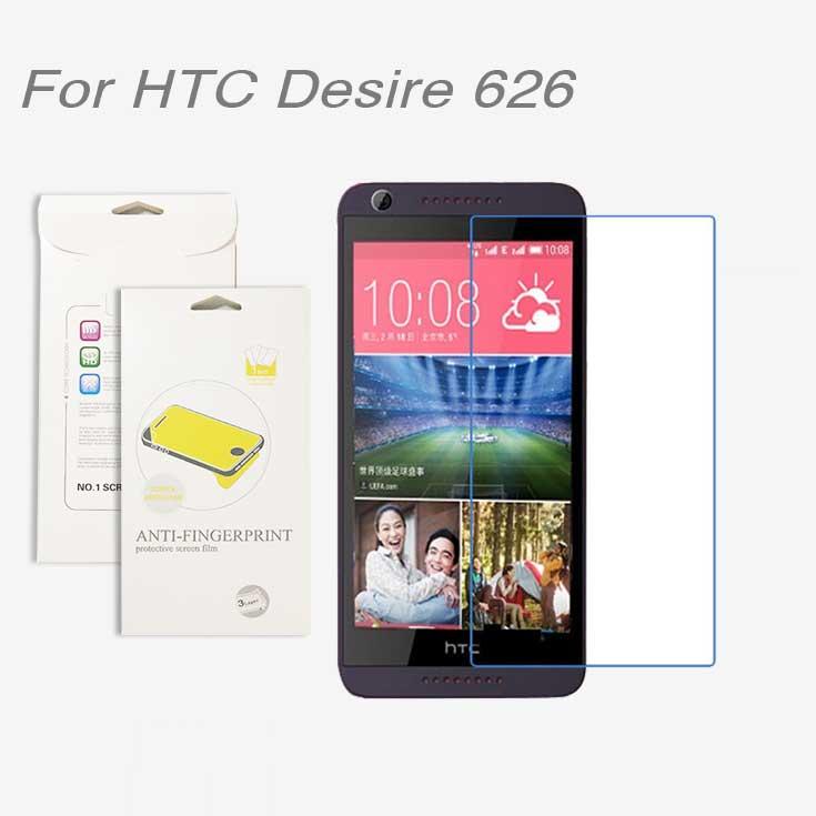 Para HTC Desire 626,3 unids lote Alto Protector claro de la pantalla del LCD  Películas pantalla para HTC Desire 626 87f1ead647