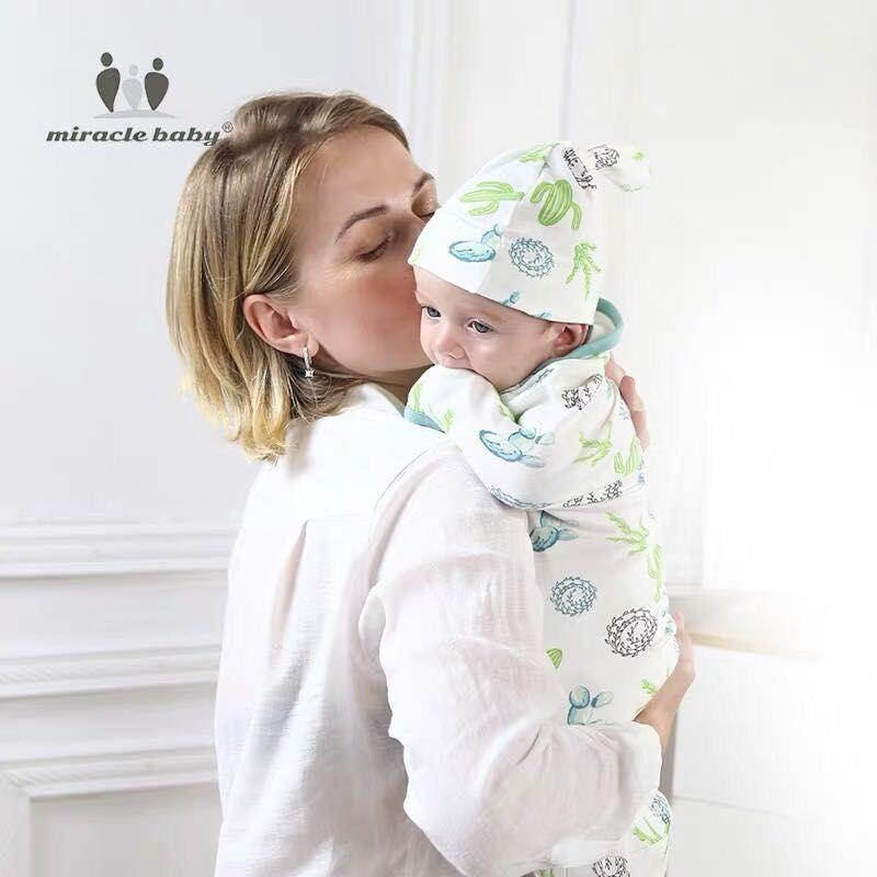 2019 Fashion muslin baby swaddle wrap 100 cotton swaddle soft infant Blanket Sleepsacks baby blankets for newborn in Blanket Swaddling from Mother Kids