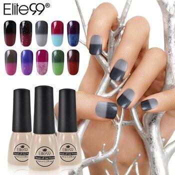 Elite99 96 Farben Nagellack Temperatur Ändern Nagel Farbe UV Gel Polnischen Semi Permanent Nagel Gel für Nagel Gel Polnisch 7 ml/teile