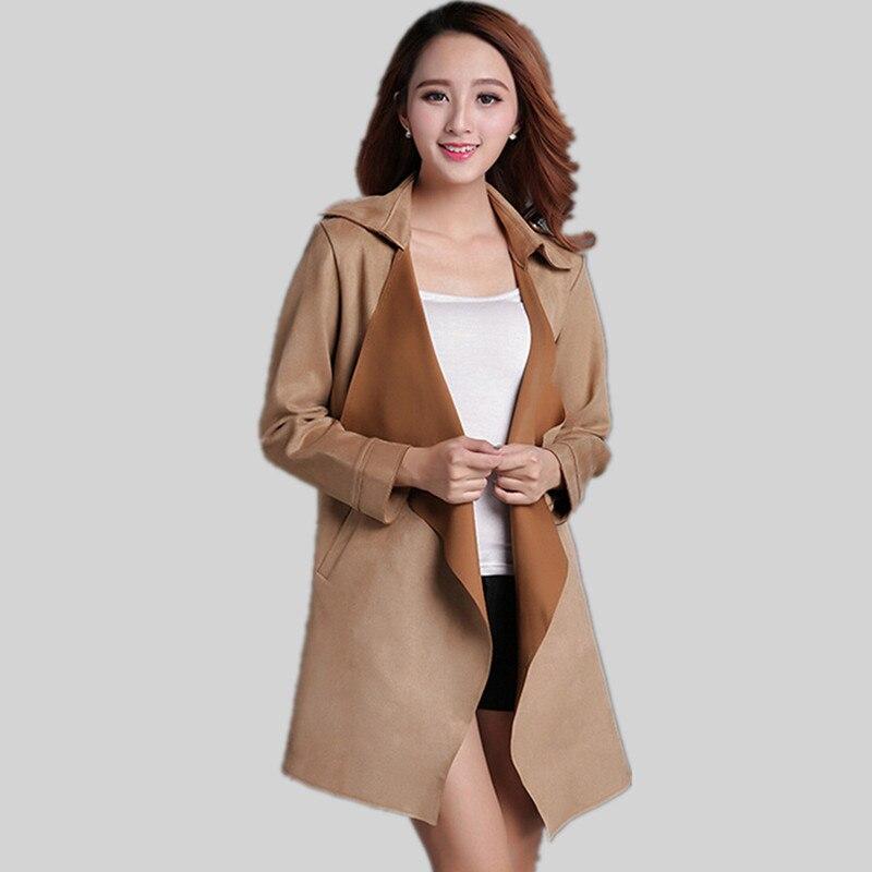 Popular Tan Trench Coats-Buy Cheap Tan Trench Coats lots from ...