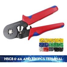 COLORS HSC8 6-4A 6-6 0.25-6mm crimping tool crimper kablo kesici pliers cable tools crimp plier wire cutter crimpador mini