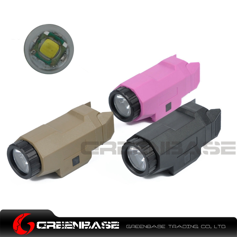 Greenbase APL Auto Pistol Light Tactical Hunting Light Night Evolution Weapon Light Mini LED White Flashlight For Hunting