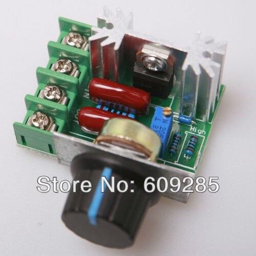 50V - 220V 10A AC Motor Speed PWM Controller Power 2000W,13 KHz  10pcs/lot
