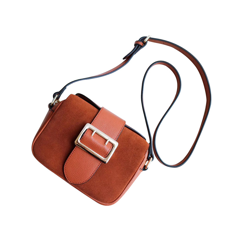 Color bright retro matte Genuine leather bag women messenger bags new fashion organ style belt buckle buckle small square bag dhl ems free shipping new ati radeon 9550 256mb ddr2 agp 4x 8x video card from factory 50pcs lot