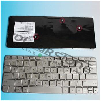 Совершенно новая серебряная Клавиатура для ноутбука HP mini 210-2000 mini 210 US клавиатура SN5103 Бесплатная доставка