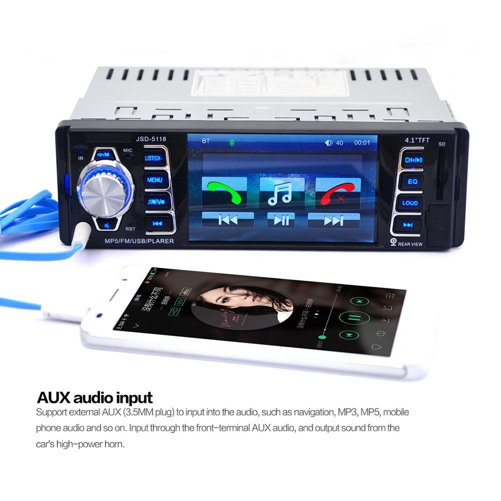 Ingebouwde Wirel 4.1-inch HD Auto FM Audio Auto Bluetooth Speler MP5 - Auto-elektronica - Foto 6