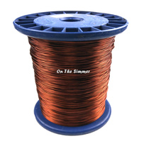 Alambre esmaltado de línea de conexión electromagnetismo de aluminio de grado 200 de alta temperatura