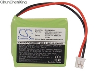 Cameron Sino 500mAh Batterij voor Siemens Gigaset E40  E45  E450  E455  E455 ECO  e455 SIM Twin  Voor Swisscom Aton CL-102  Top S329