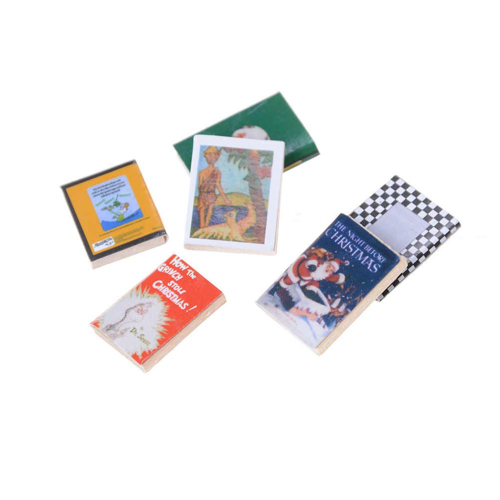 1:12 für Mädchen Puppe Möbel Buch/Magazin/Poker Schöne Spielzeug Puppe Zubehör für Blyth Puppenhaus Beste Geschenk Spielzeug