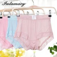 Female Underwear Silk 100% Silk Lace 42 Pin Simple Comfortable Bag Hip Seamless Size Waist Pants