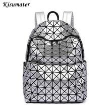 Новинка 2017 года женские Модные рюкзак геометрический, сумка студент школьная сумка рюкзак packback Бесплатная доставка