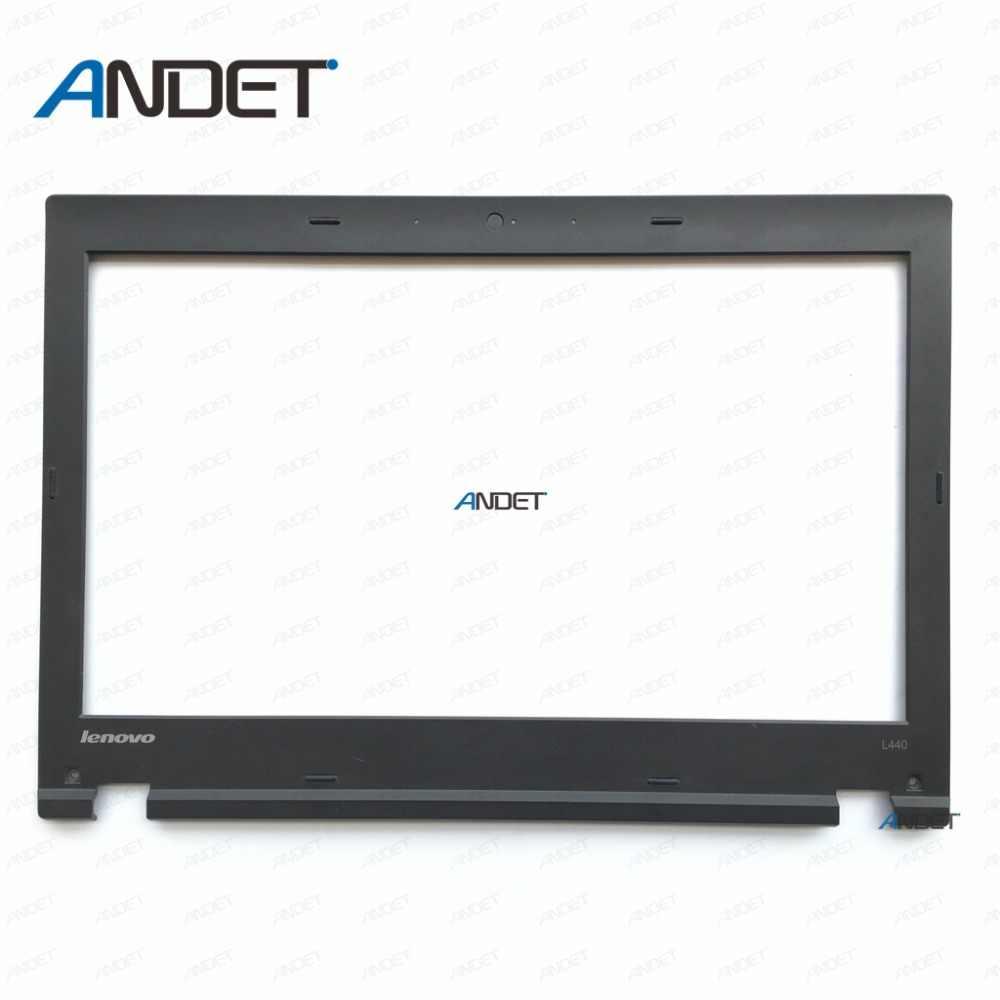 をレノボ ThinkPad L440 改装 Lcd フロントシェルカバー 04 × 4805 60.4LG12.001