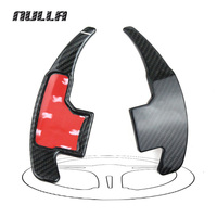 NULLA Carbon Fiber Car Styling Sticker Accessories For Ford Mustang 2015 2016 2017 Steering Wheel Gear