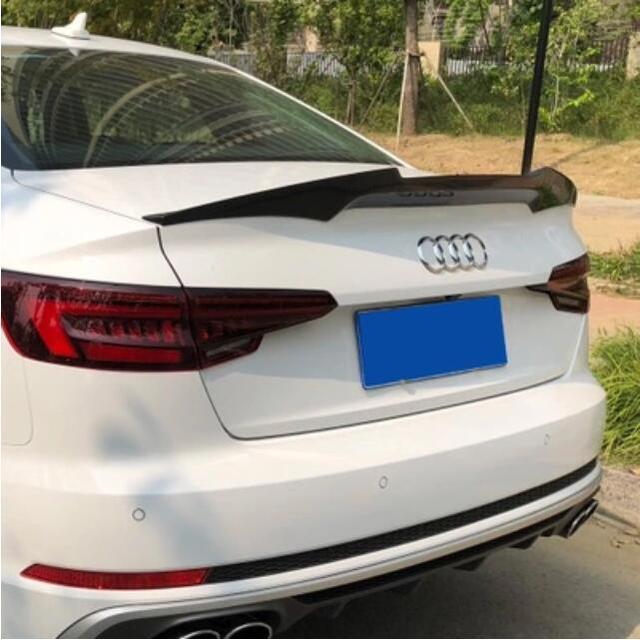 Spotors de coffre daile arrière | En Fiber de carbone, pour AUDI A5 S5 RS5 2017 2018 2019 (uniquement pour 2 portes Audi A5 2017-2019)