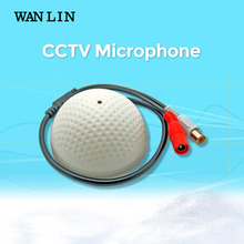 WANLIN Mini CCTV Microphone Security Surveillance Audio Input Wide Range CCTV Camera Sound Pick up