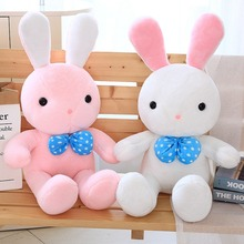 40/60/80 Cm Soft Rabbit Plush Toy Stuffed Animal Bunny Placating Toys Brand For Childrens Bed